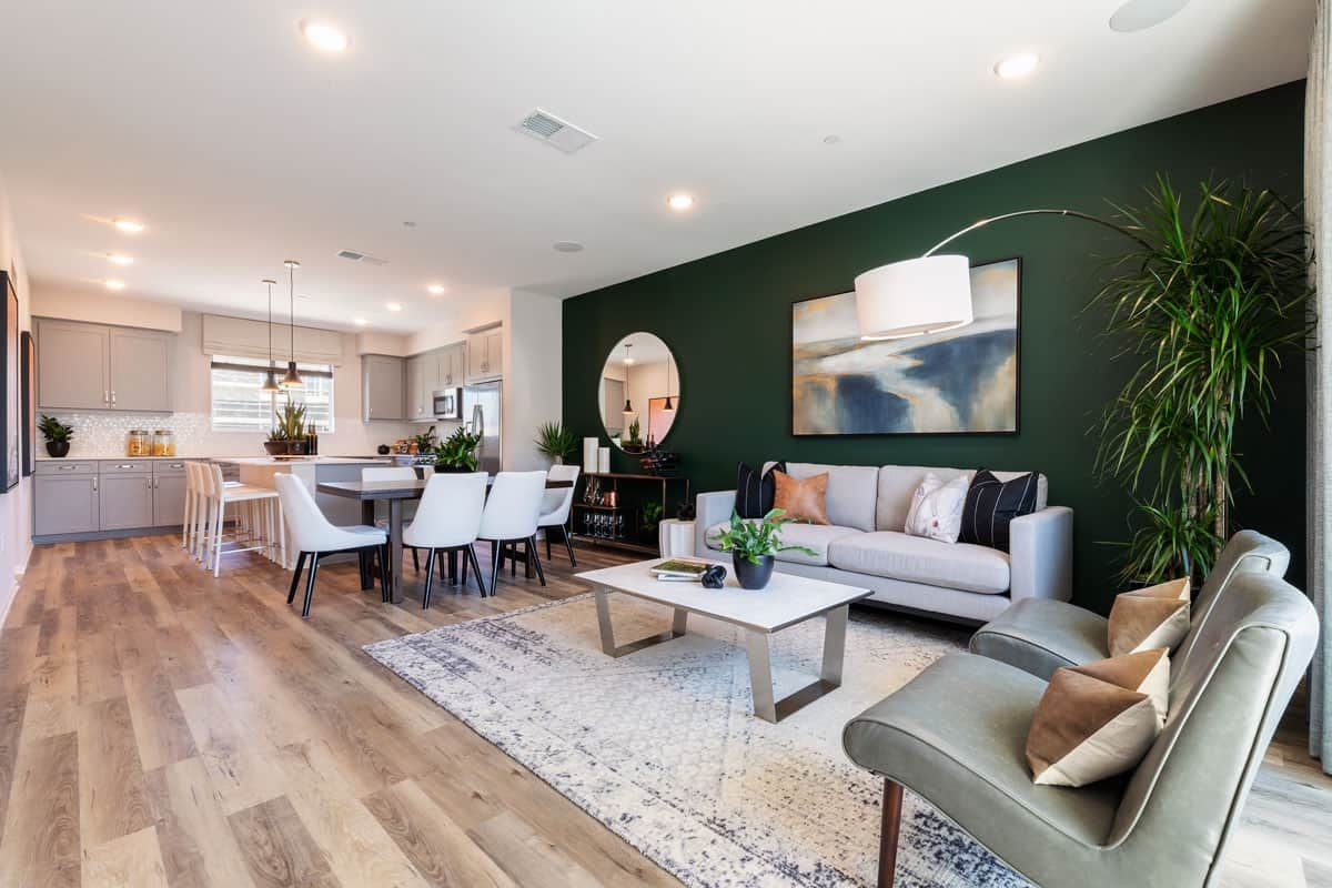 Living Area featured in the Plan 4 By Tri Pointe Homes in San Diego, CA