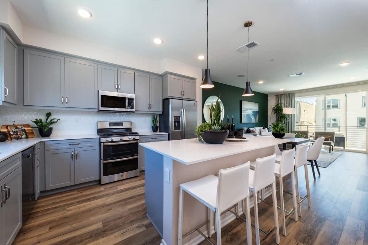 Kitchen featured in the Plan 4 By Tri Pointe Homes in San Diego, CA
