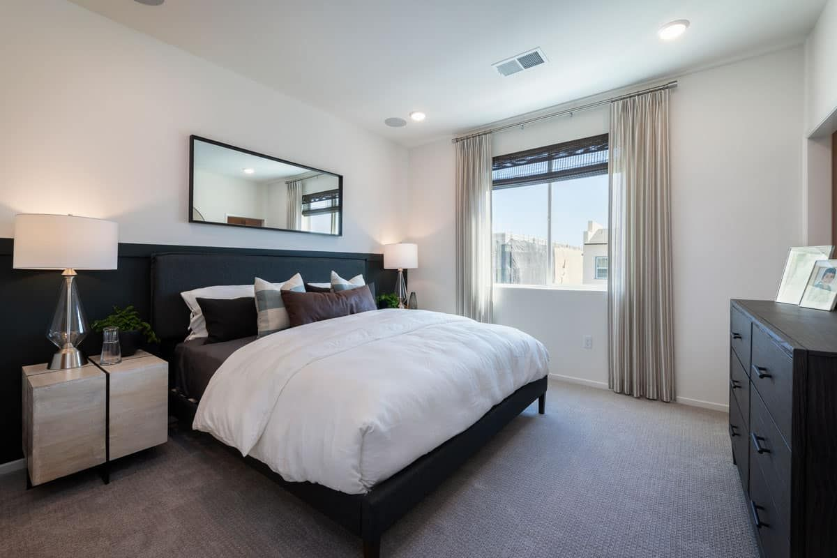Bedroom featured in the Plan 4 By Tri Pointe Homes in San Diego, CA
