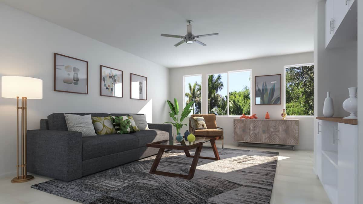Living Area featured in the Plan 3 By Tri Pointe Homes in San Diego, CA