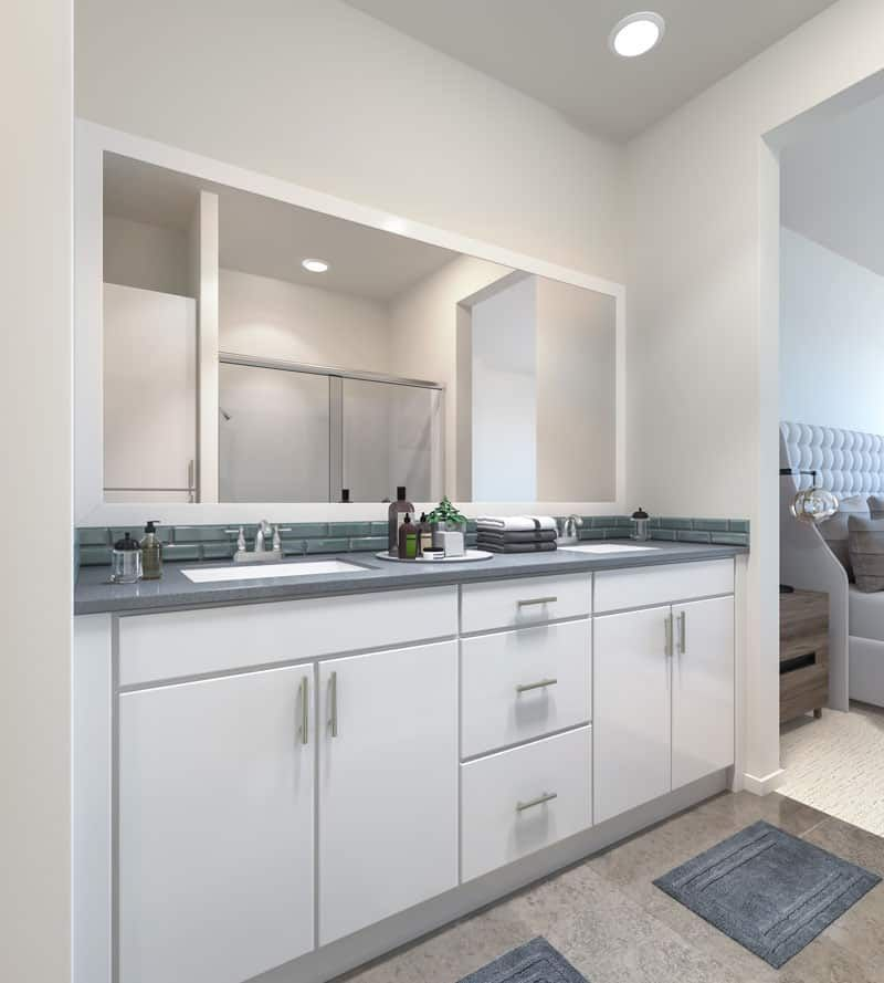 Bathroom featured in the Plan 2 By Tri Pointe Homes in San Diego, CA