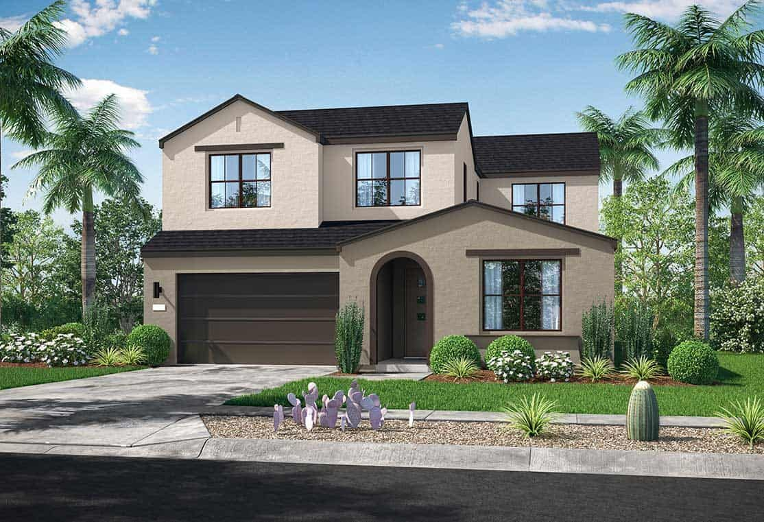 Sendero Collection | Plan 2A Exterior