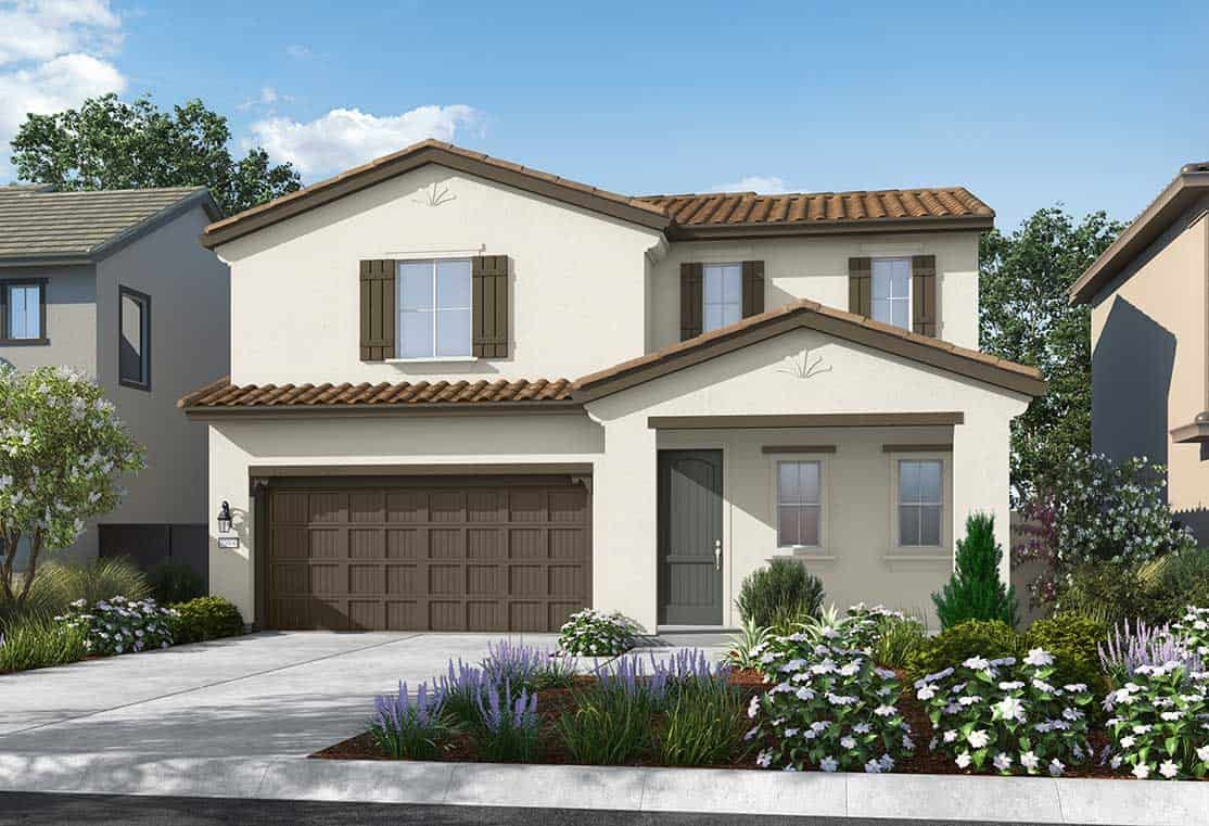 Plan 1 Exterior Style: Spanish Colonial