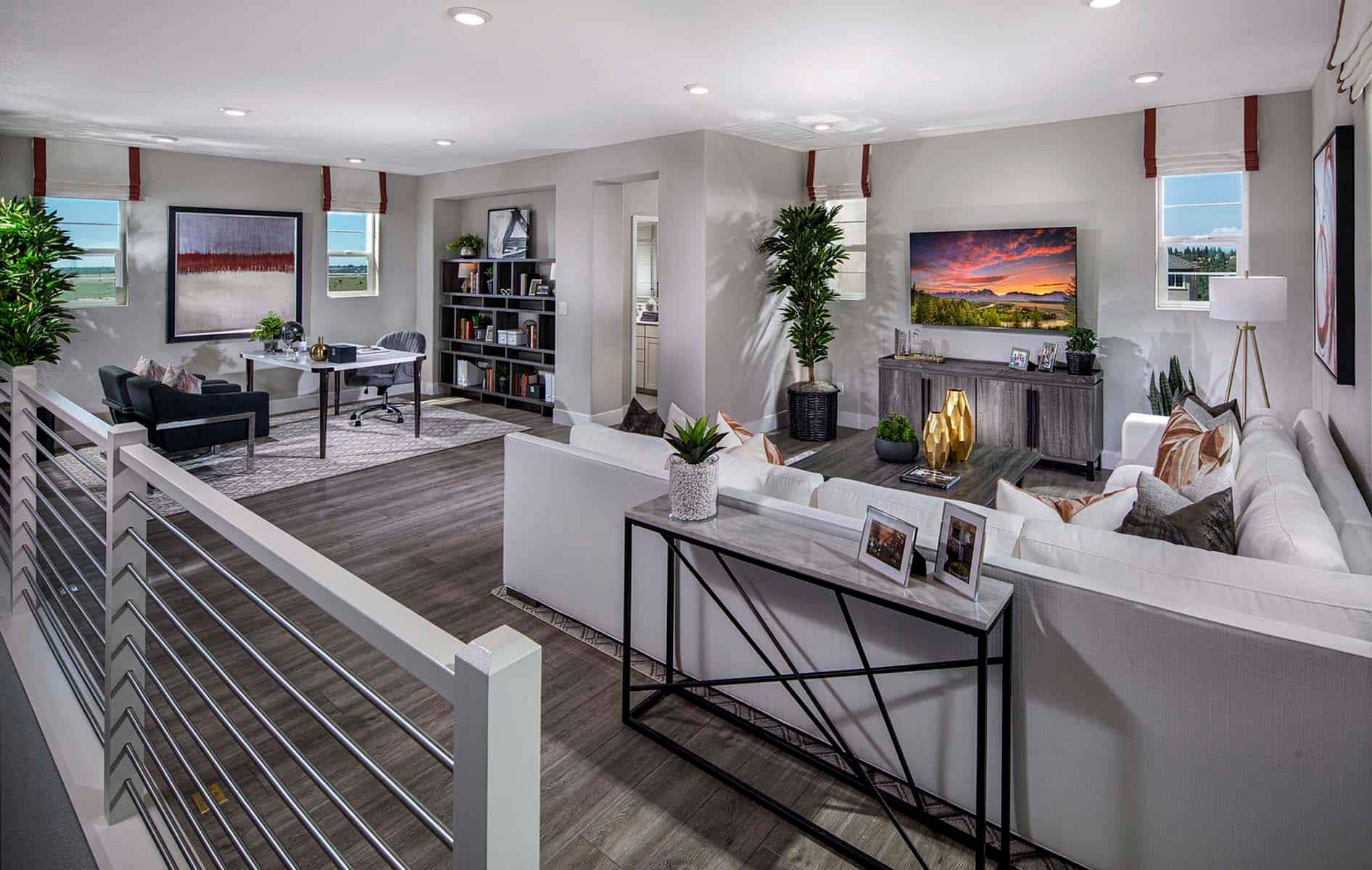 Living Area featured in the Plan 2 By Tri Pointe Homes in Sacramento, CA