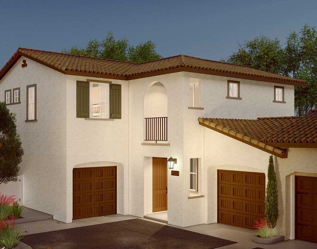 Cassis-at-Rancho-Soleo-Plan-3A-Spanish-Colonial-Ex:Cassis At Rancho Soleo Plan 3A Spanish Colonial Exterior Style