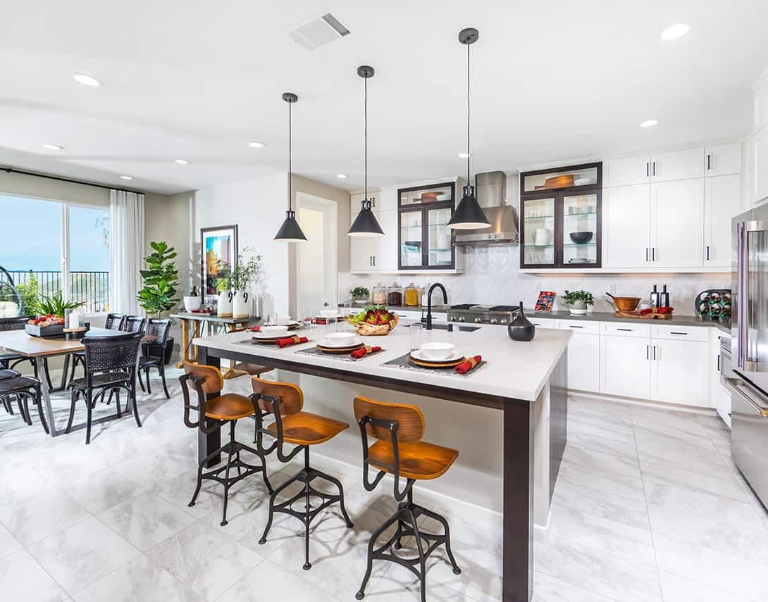 Kitchen featured in the Luna Plan 3 By Tri Pointe Homes in Los Angeles, CA