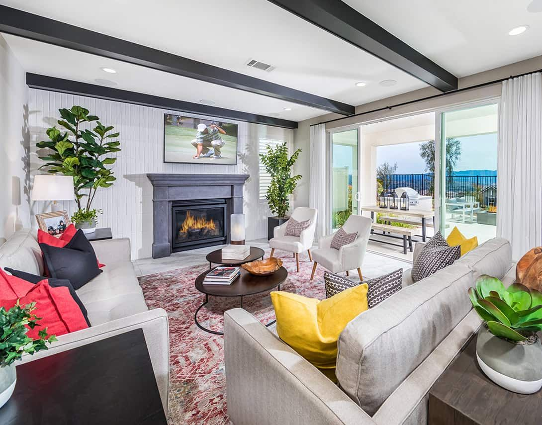 Living Area featured in the Luna Plan 3 By Tri Pointe Homes in Los Angeles, CA
