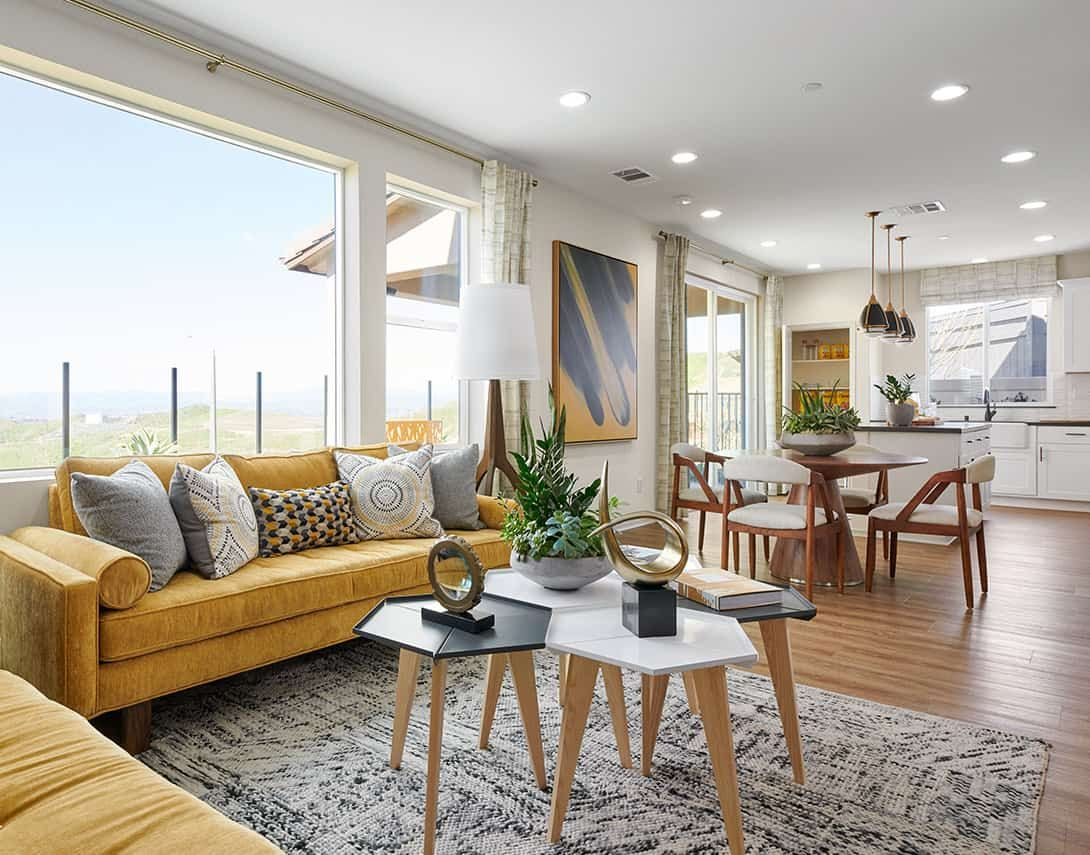 Living Area featured in the Sola Plan 1 By Tri Pointe Homes in Los Angeles, CA