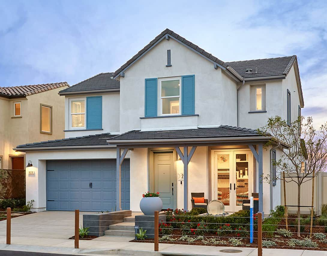 Exterior featured in the Sola Plan 2 By Tri Pointe Homes in Los Angeles, CA