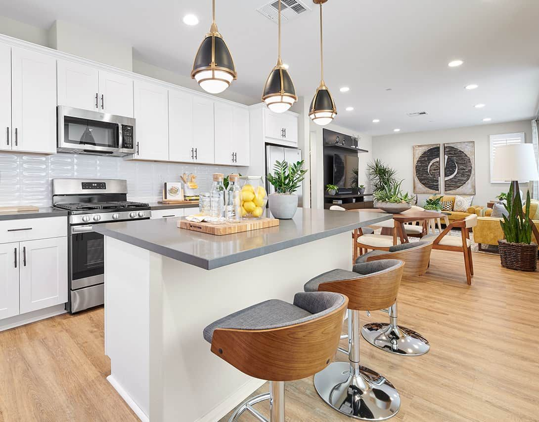 Kitchen featured in the Sola Plan 1 By Tri Pointe Homes in Los Angeles, CA