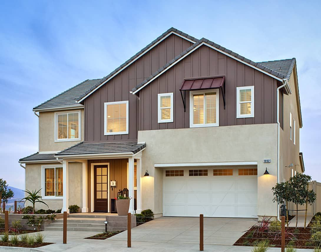 Exterior featured in the Lyra Plan 3 By Tri Pointe Homes in Los Angeles, CA