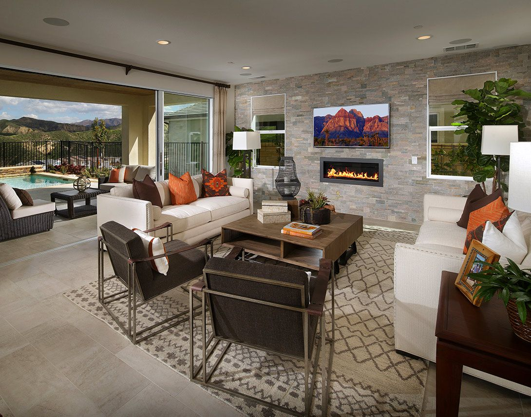 Living Area featured in the Arista Plan 2 By Tri Pointe Homes in Los Angeles, CA