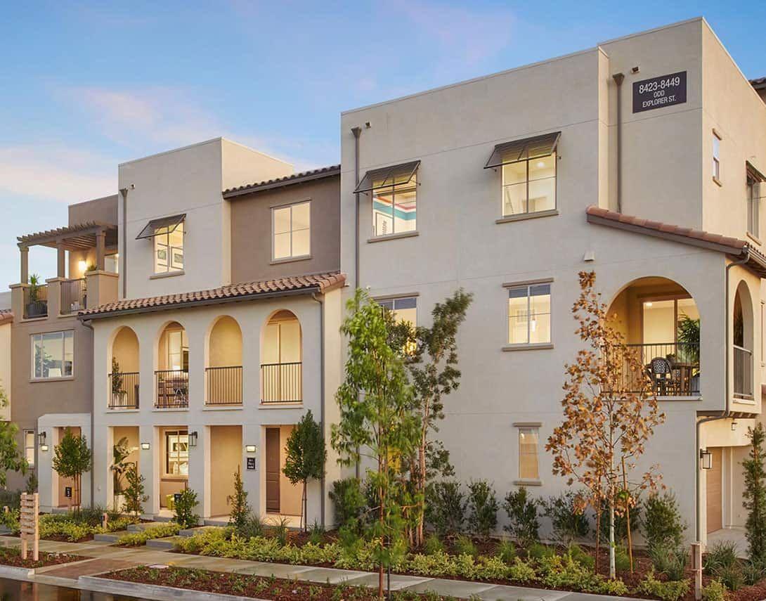 Exterior featured in the Hazel Plan 2 By Tri Pointe Homes in Riverside-San Bernardino, CA