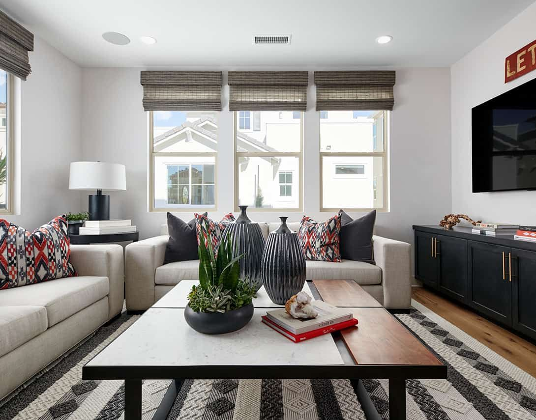 Living Area featured in the Cerise Plan 3 By Tri Pointe Homes in Orange County, CA