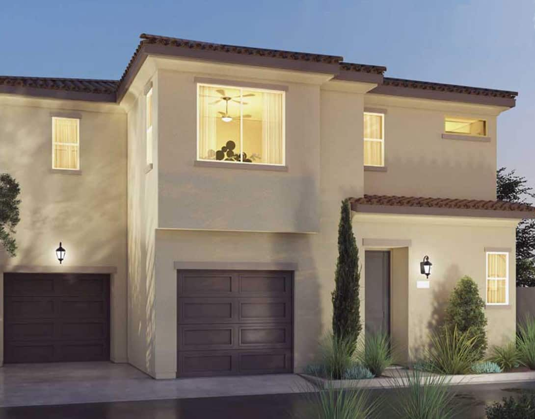 Cerise At Canvas Plan 1XA Spanish Exterior Style R:Cerise At Canvas Plan 1XA Spanish Exterior Style Rendering