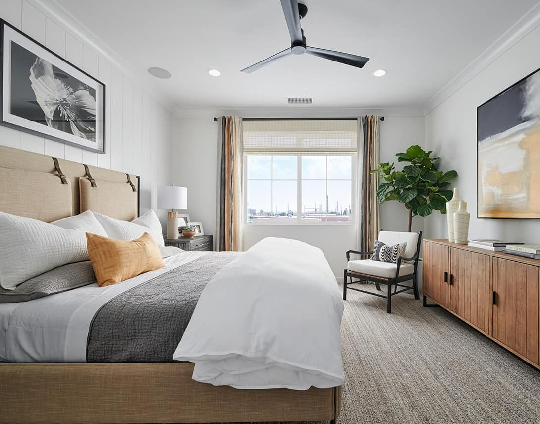 Bedroom featured in the Claret Plan 1 By Tri Pointe Homes in Orange County, CA