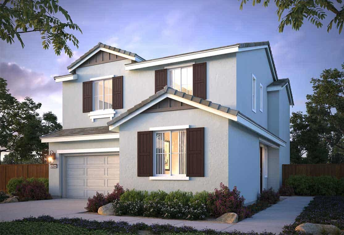 Marigold At The Villages In Fairfield Ca New Homes By Tri Pointe Homes