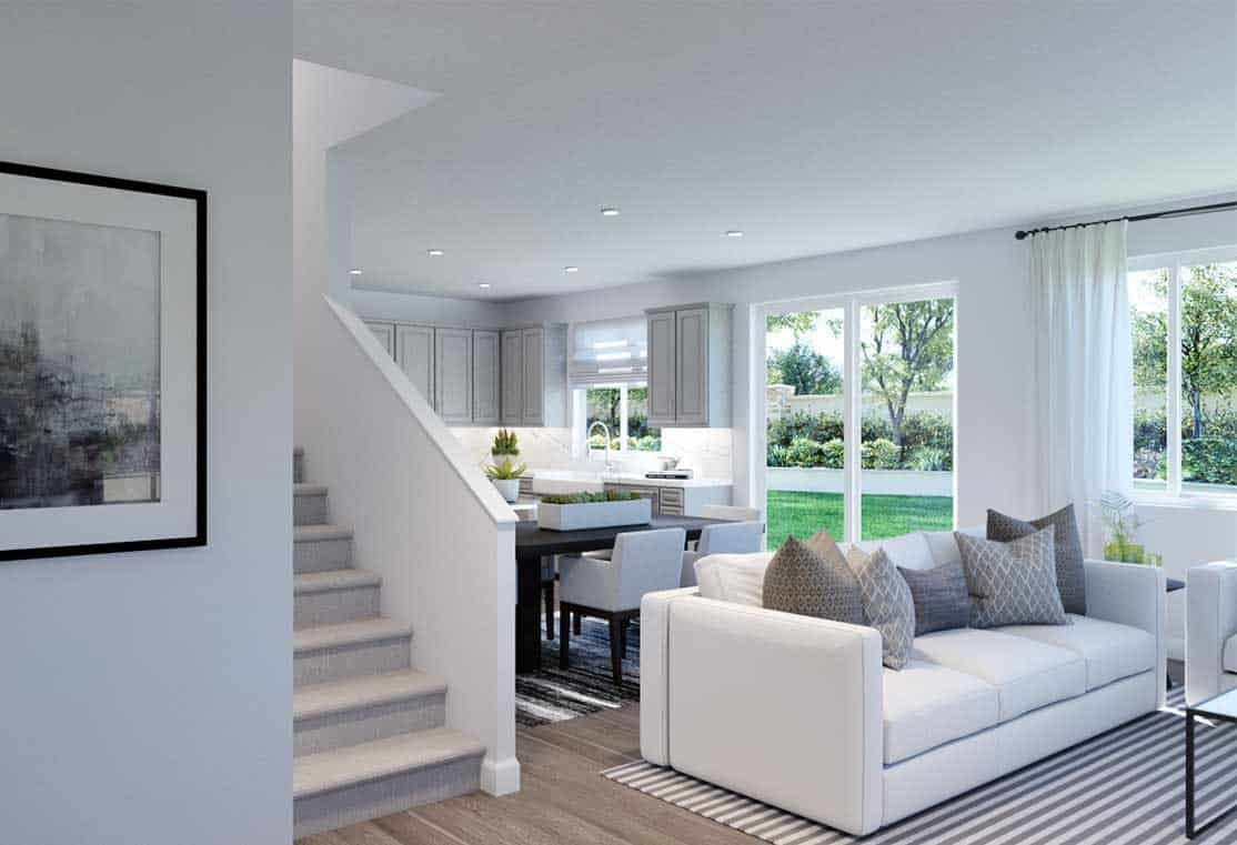 Living Area featured in the Plan 1 By Tri Pointe Homes in Vallejo-Napa, CA