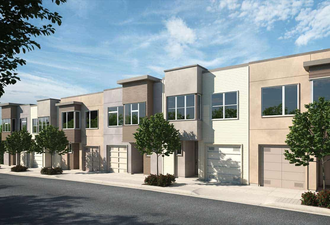 Exterior featured in the Plan B By Tri Pointe Homes in San Francisco, CA