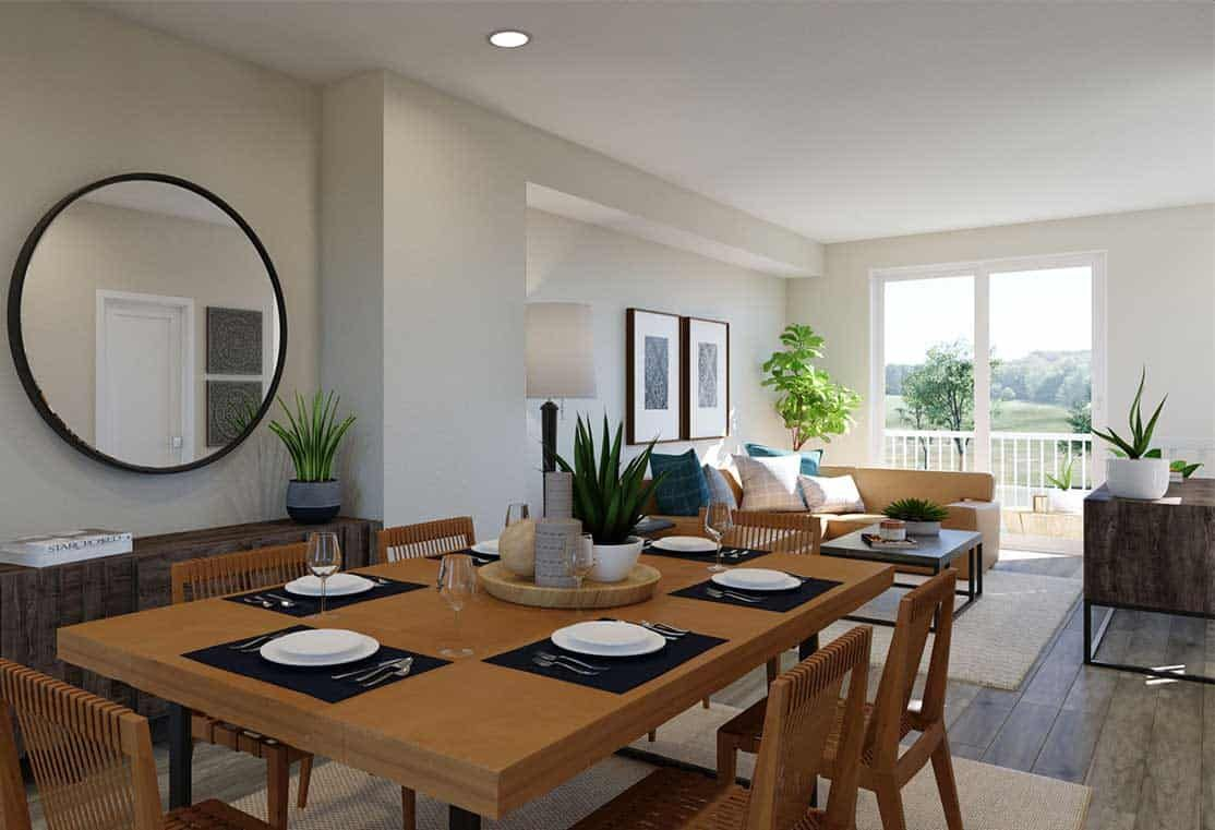 Living Area featured in the Plan C By Tri Pointe Homes in San Francisco, CA