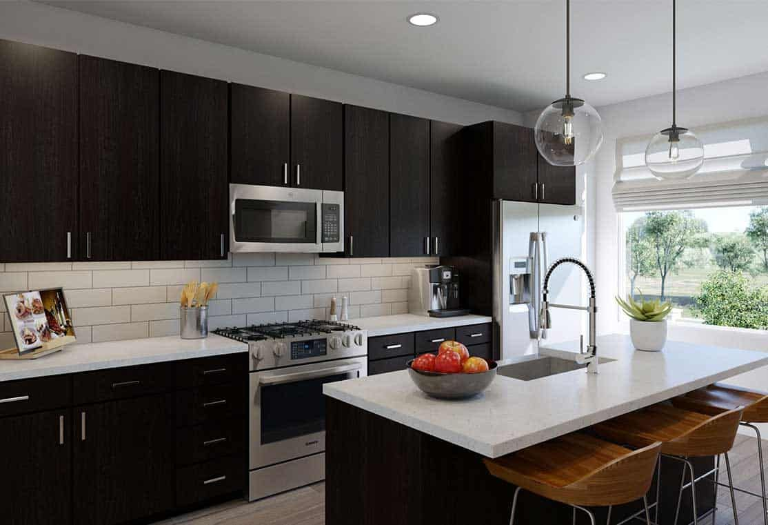 Kitchen featured in the Plan A By Tri Pointe Homes in San Francisco, CA