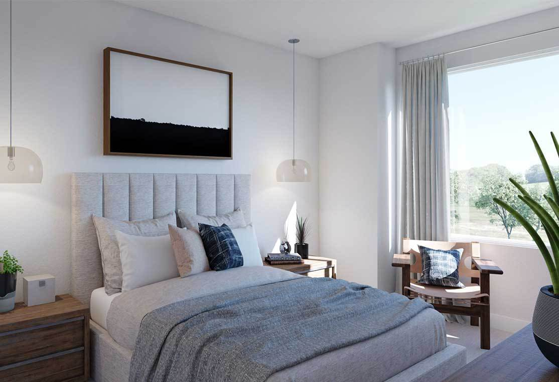 Bedroom featured in the Plan A By Tri Pointe Homes in San Francisco, CA