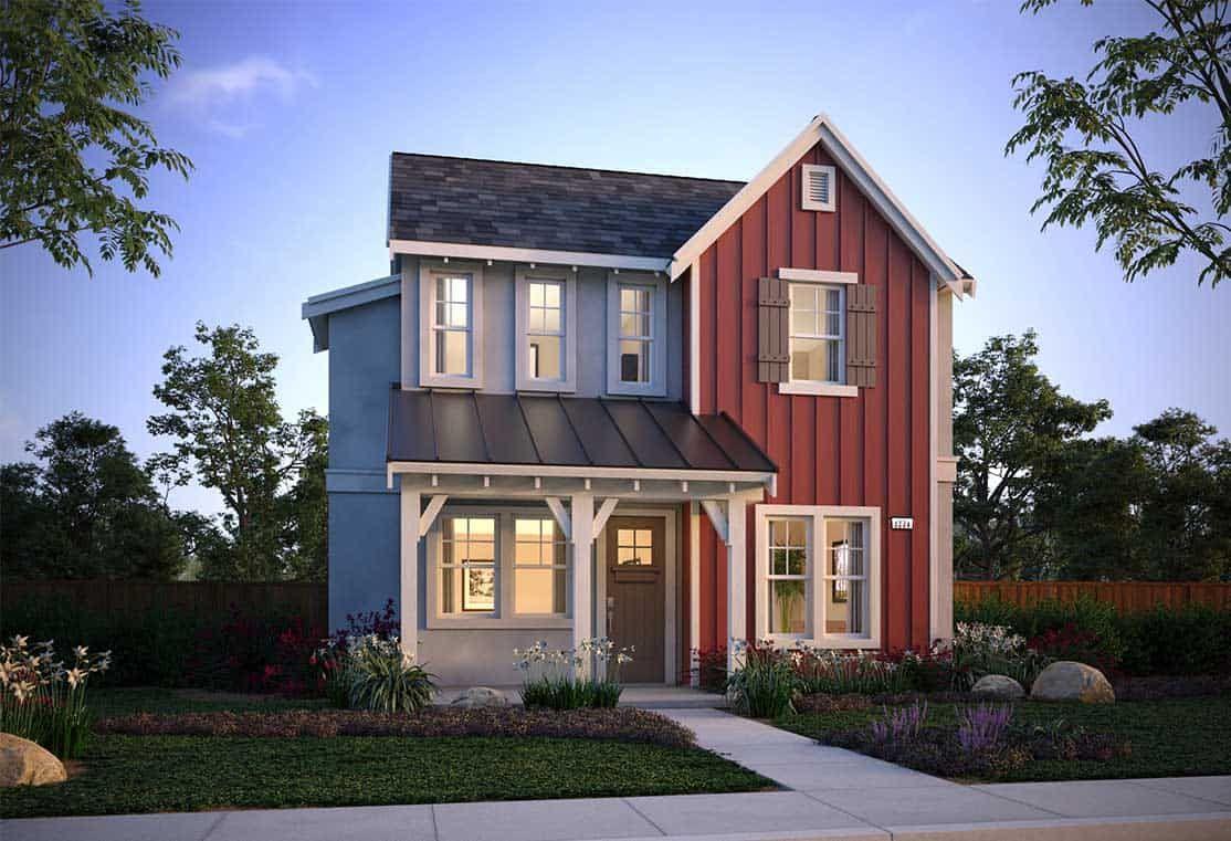 Farmhouse:Plan 5A