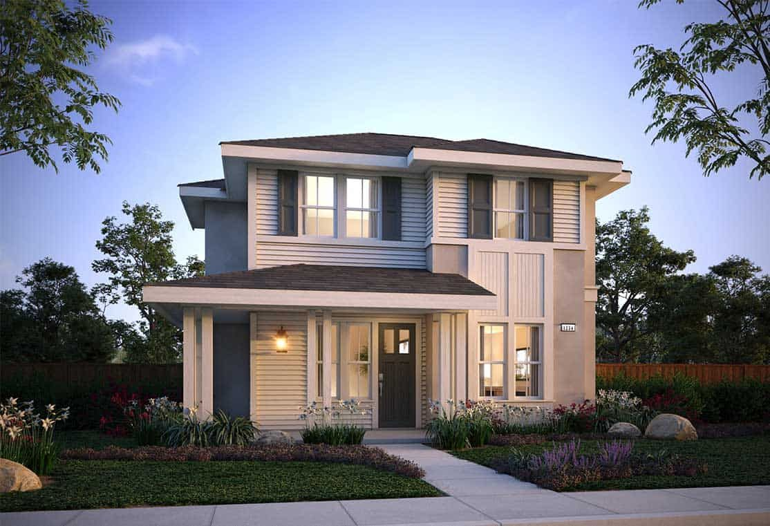 Exterior featured in the Plan 5 By Tri Pointe Homes in Santa Rosa, CA