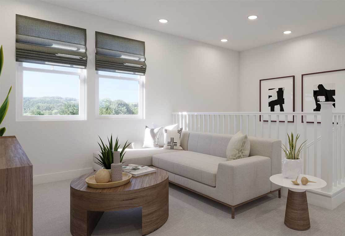 Living Area featured in the Plan 5 By Tri Pointe Homes in Santa Rosa, CA