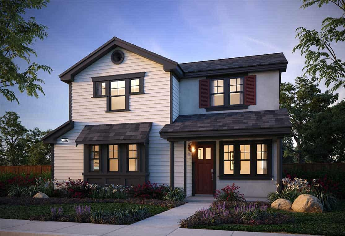 Exterior featured in the Plan 2 By Tri Pointe Homes in Santa Rosa, CA