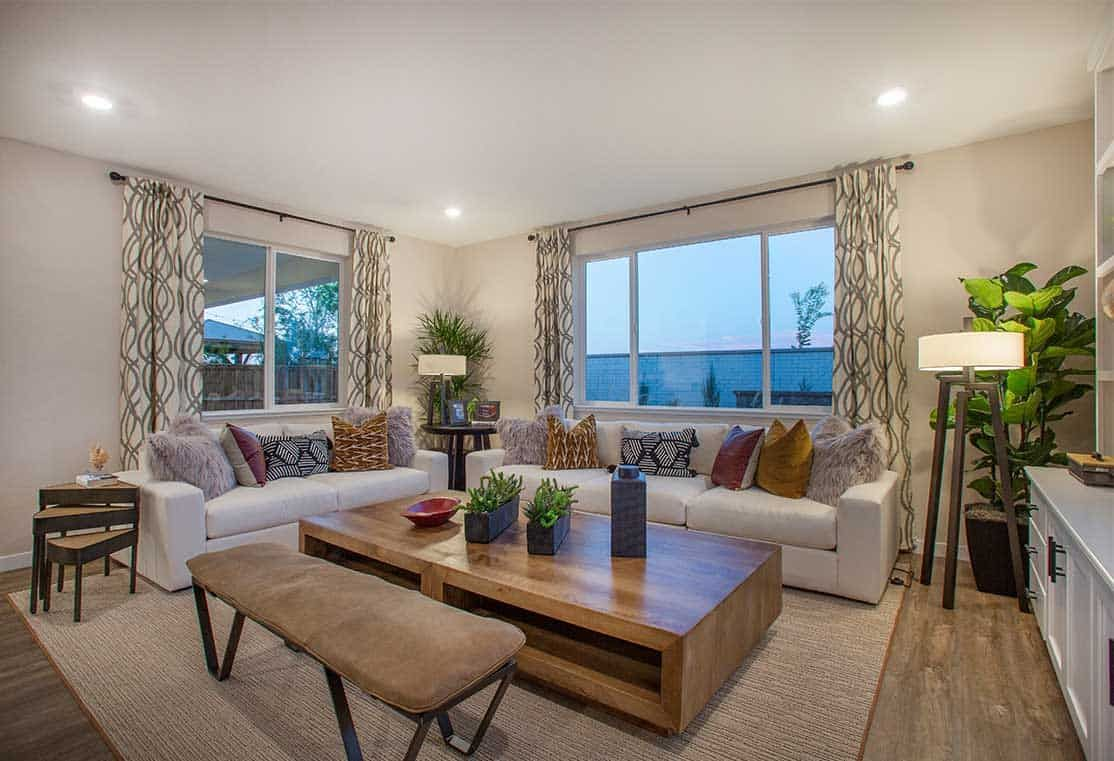 Living Area featured in the Plan 4 By Tri Pointe Homes in Stockton-Lodi, CA