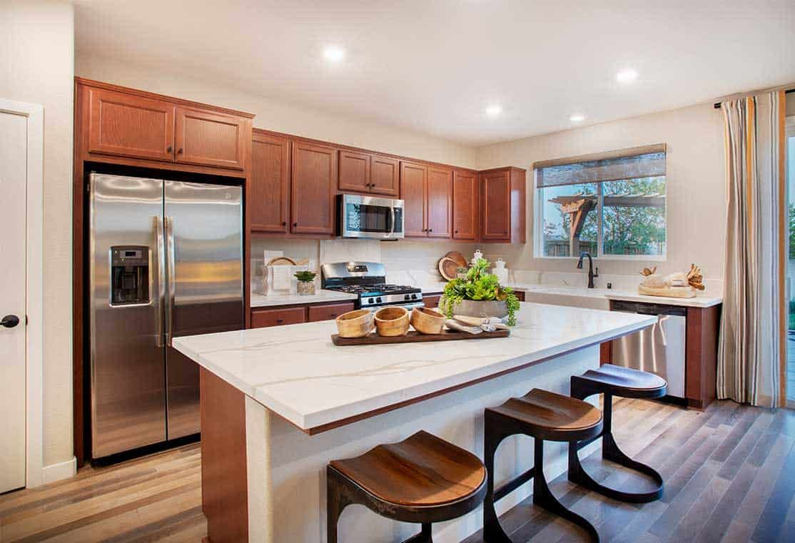 Kitchen featured in the Plan 1 By Tri Pointe Homes in Stockton-Lodi, CA