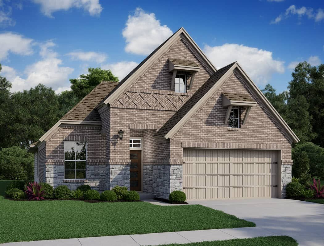 Exterior featured in the Egret By Tri Pointe Homes in Houston, TX