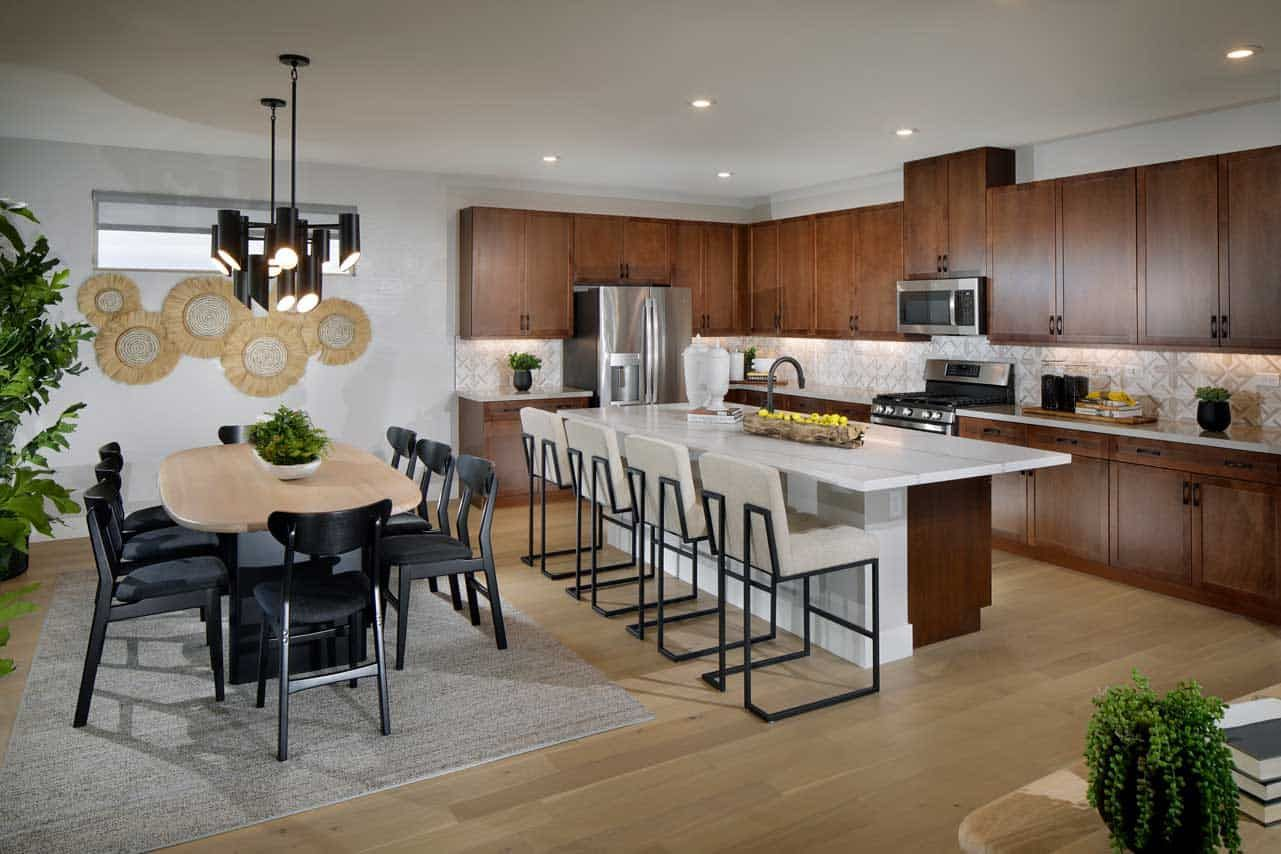 Living Area featured in the Plan 4 By Tri Pointe Homes in Las Vegas, NV