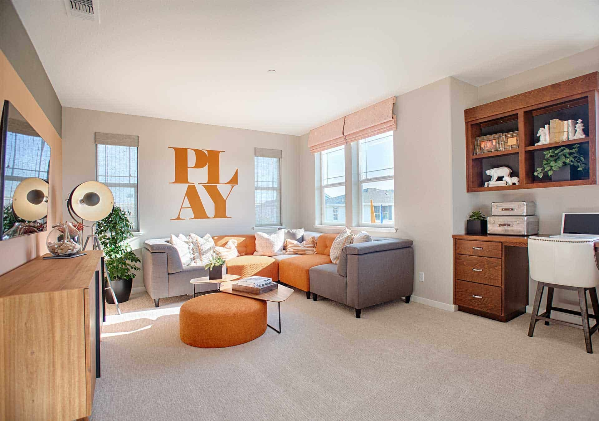 Living Area featured in the Plan 7 By Tri Pointe Homes in Santa Rosa, CA