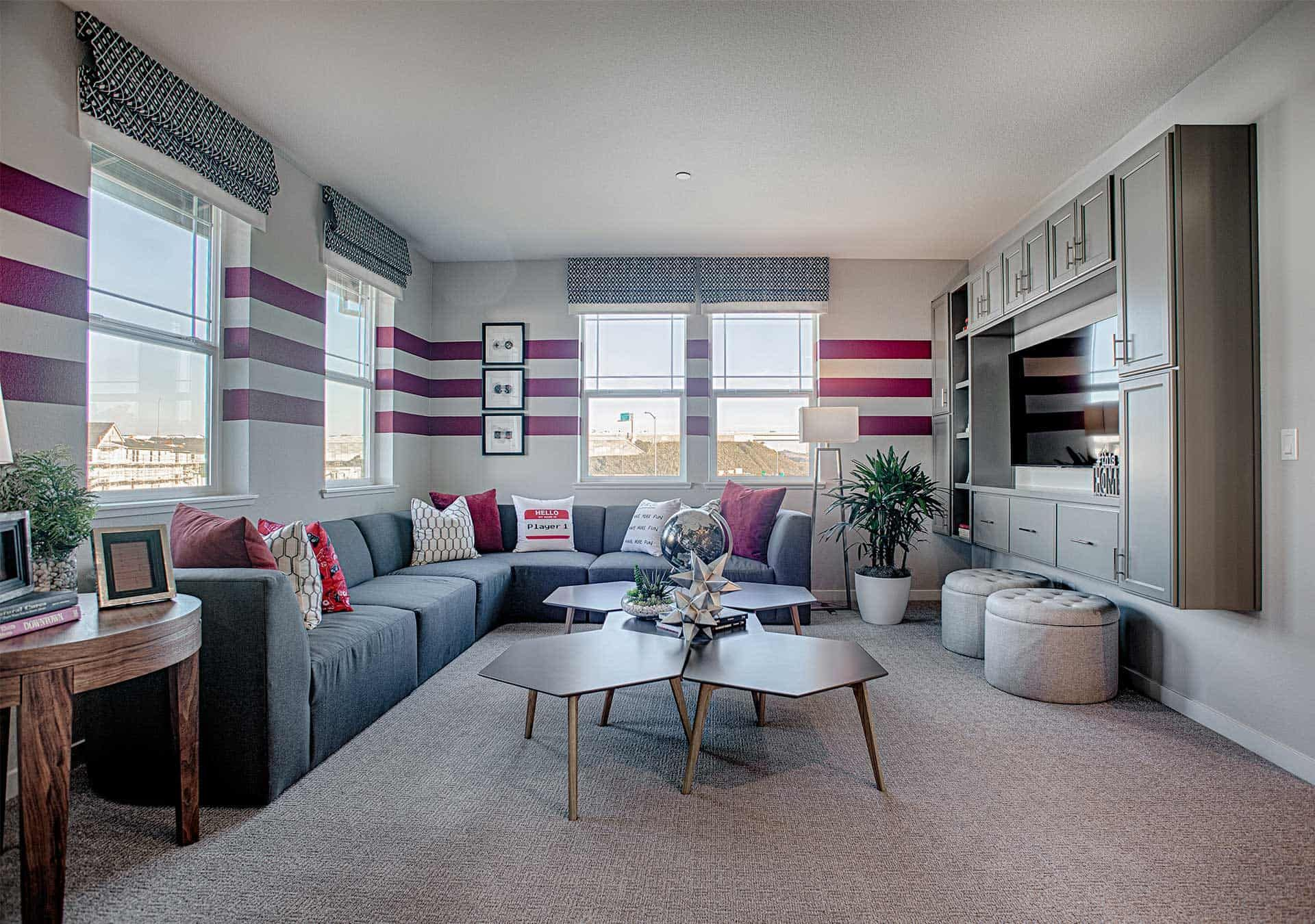 Living Area featured in the Plan 4 By Tri Pointe Homes in Santa Rosa, CA