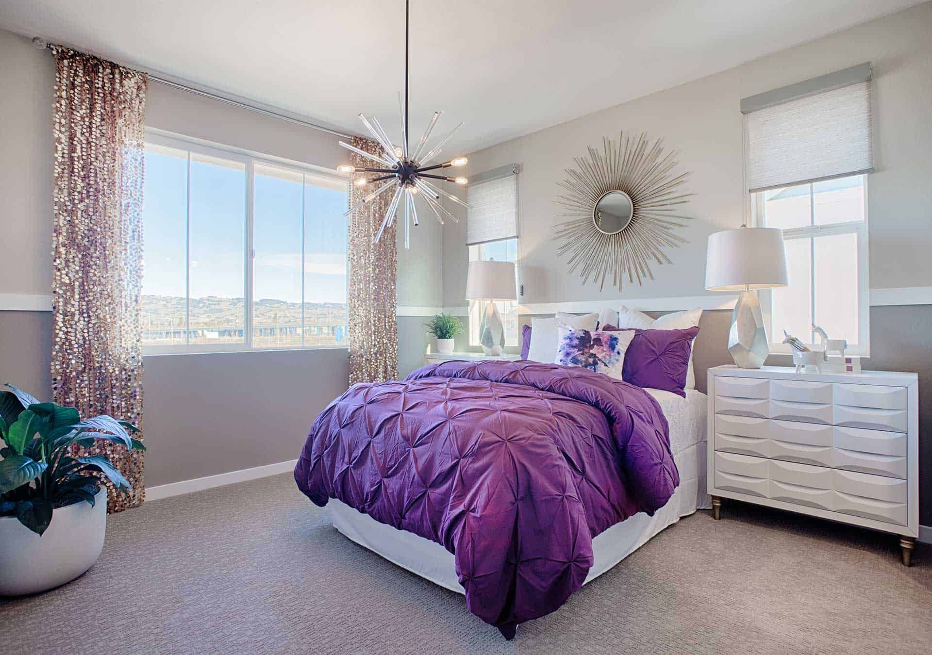 Bedroom featured in the Plan 3 By Tri Pointe Homes in Santa Rosa, CA