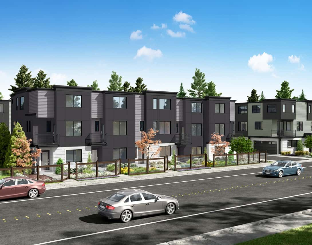 Cypress-Streetscape-1090x855-2:New Townhomes Coming Soon to Lynnwood