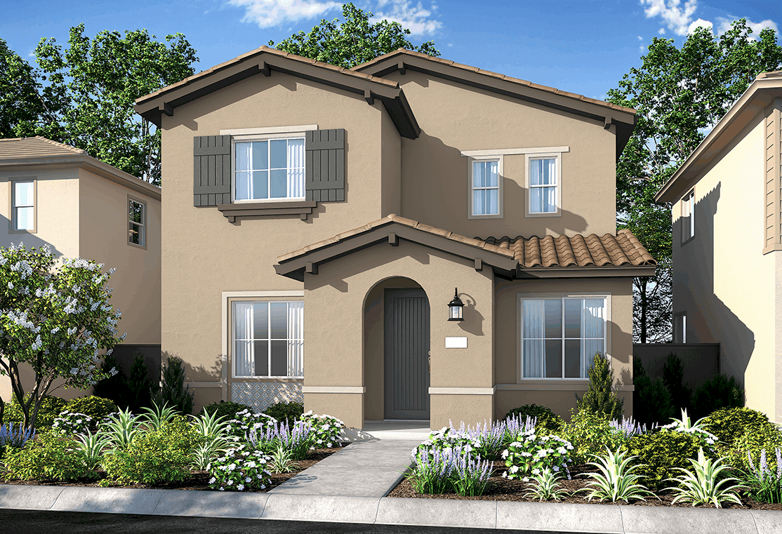 Exterior featured in the Plan 3 By Tri Pointe Homes in Sacramento, CA