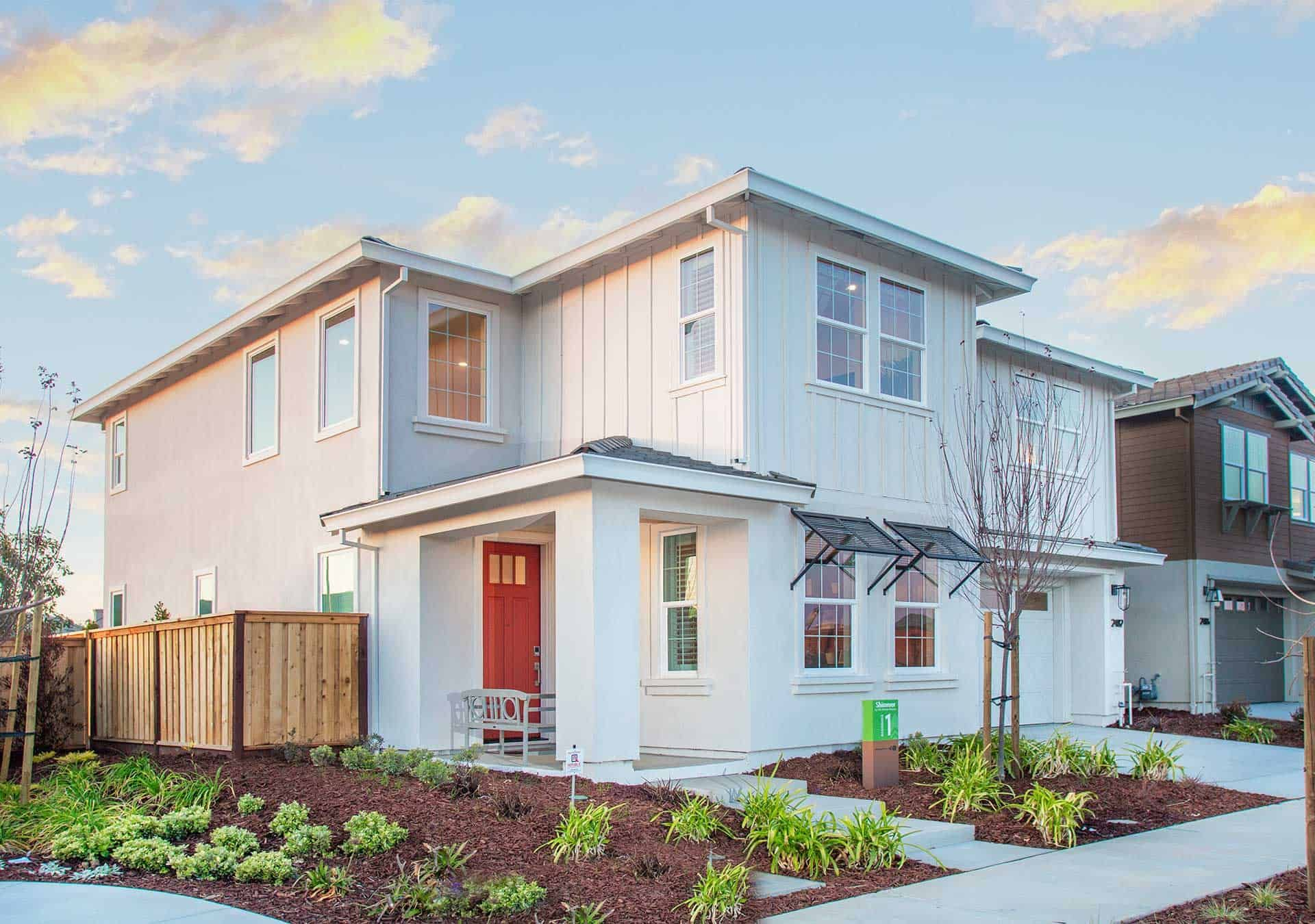 Exterior featured in the Plan 1 By Tri Pointe Homes in Vallejo-Napa, CA