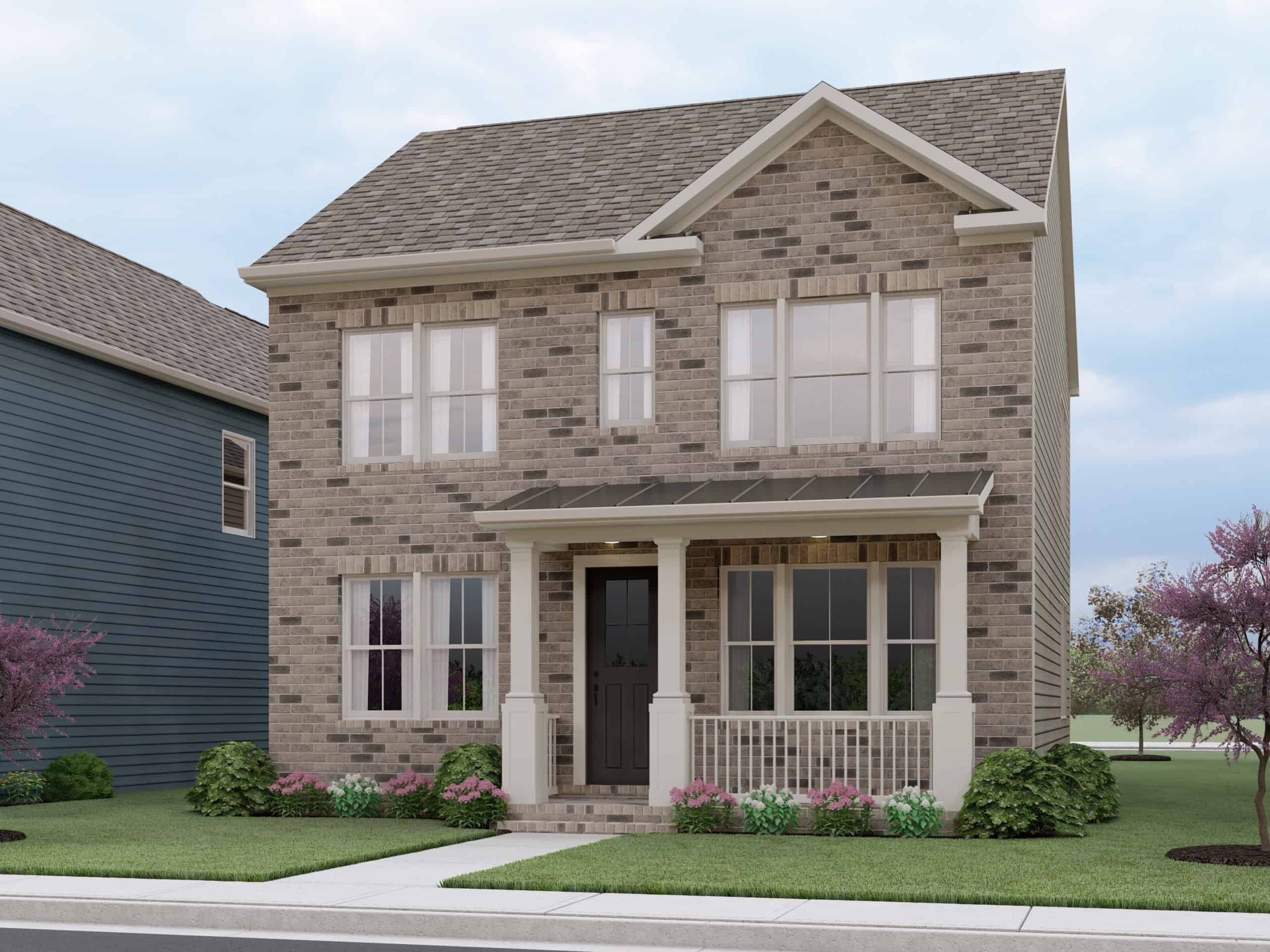 Exterior featured in the Madison By Tri Pointe Homes in Washington, MD