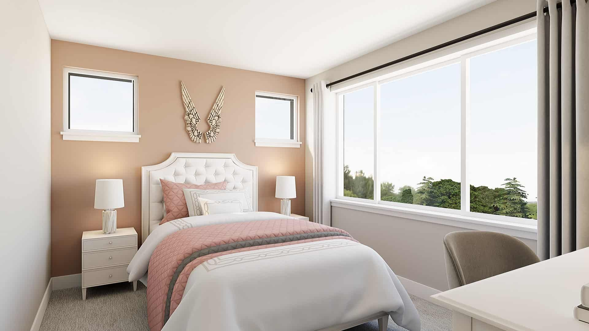 Bedroom featured in the Plan 183A By Tri Pointe Homes in Seattle-Bellevue, WA
