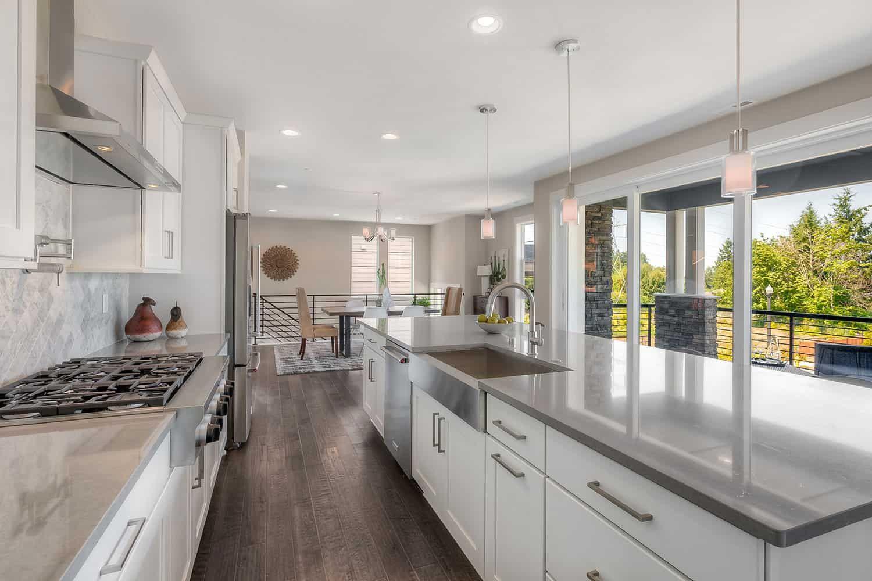 Kitchen featured in the Plan U-320 By Tri Pointe Homes in Seattle-Bellevue, WA