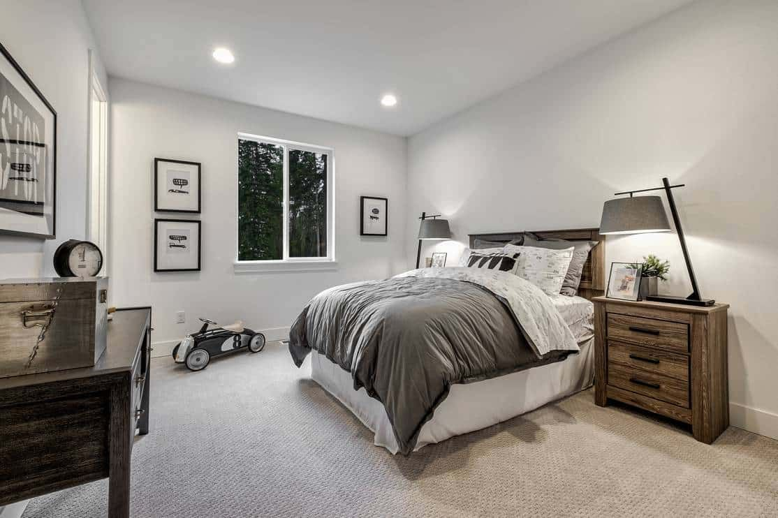 Bedroom featured in the Plan H-303 By Tri Pointe Homes in Seattle-Bellevue, WA