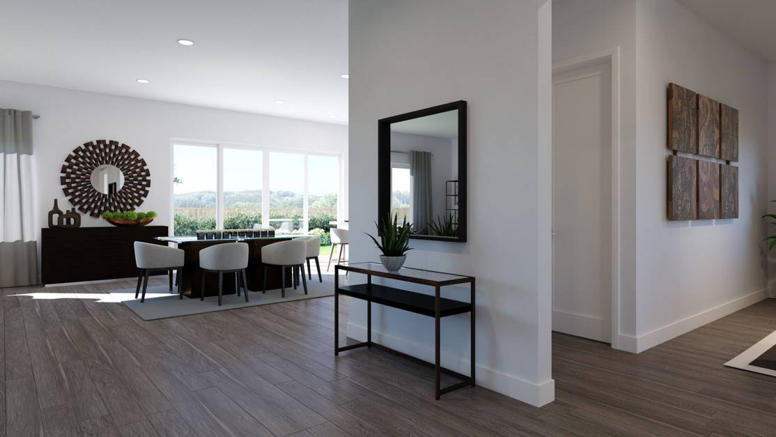 Living Area featured in the Plan 5801 By Tri Pointe Homes in Denver, CO