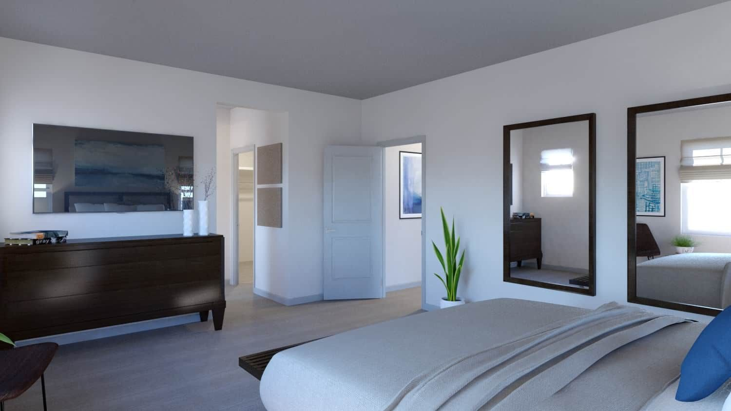 Bedroom featured in the Plan 3205 By Tri Pointe Homes in Denver, CO