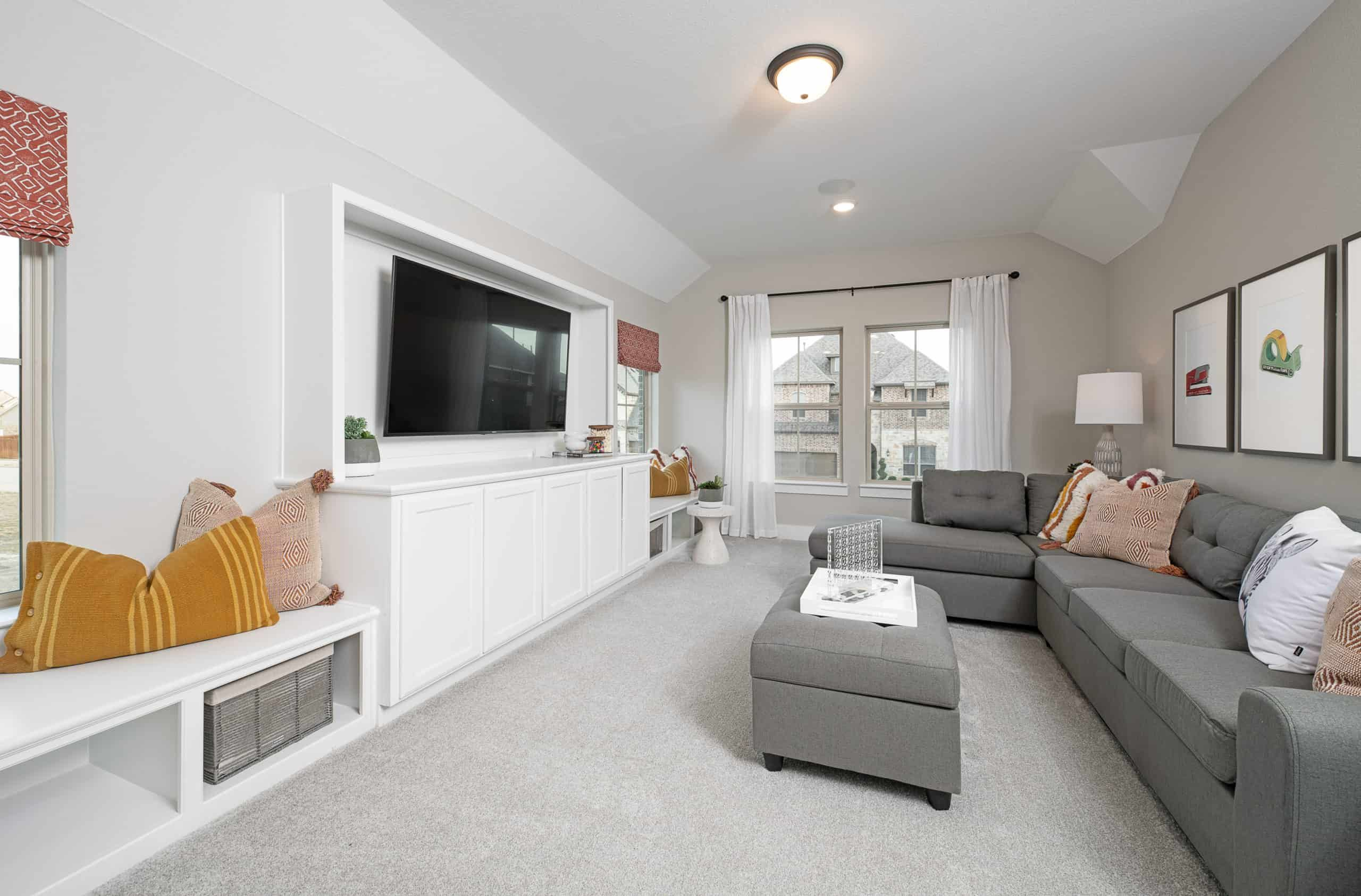 Living Area featured in the Lillian By Tri Pointe Homes in Dallas, TX
