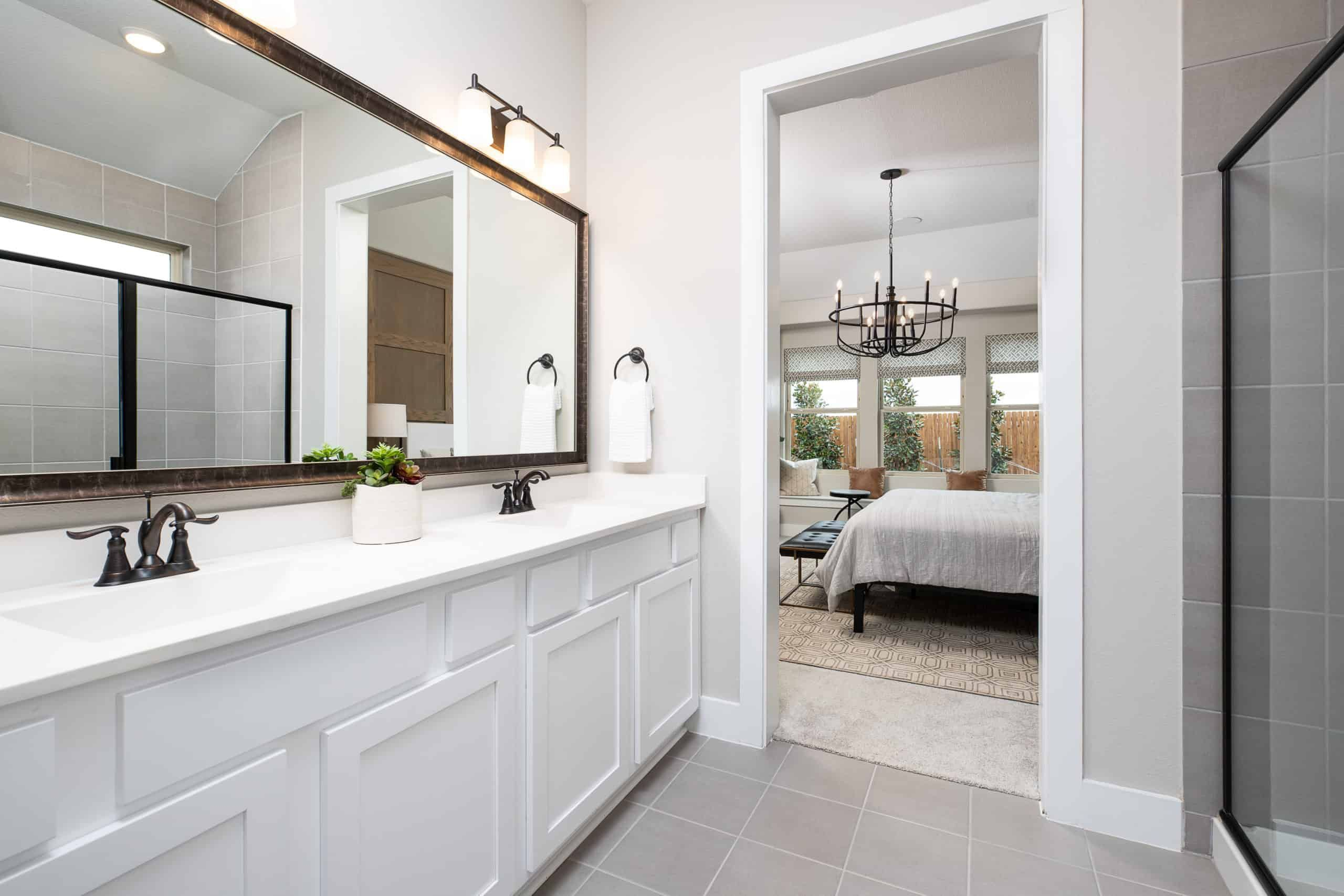 Bathroom featured in the Madison By Tri Pointe Homes in Fort Worth, TX