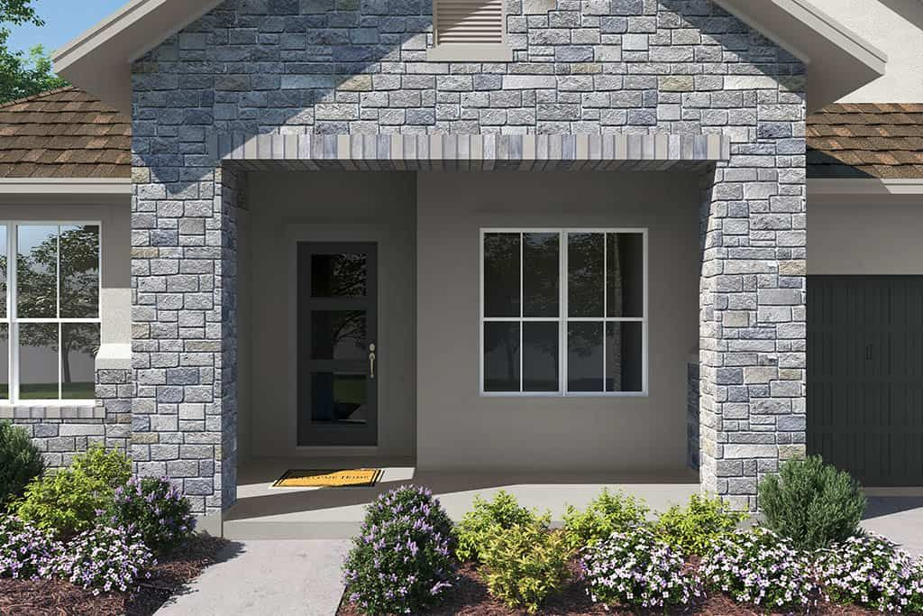 Exterior featured in the Allandale By Tri Pointe Homes in Austin, TX