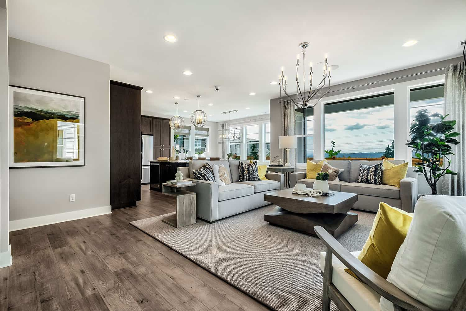 Living Area featured in the Residence GR-24 By Tri Pointe Homes in Seattle-Bellevue, WA